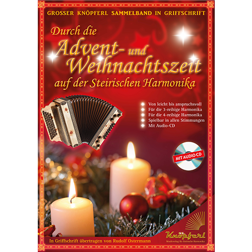 kn pferl durch die advent weihnachtszeit auf der steirischen harmonika. Black Bedroom Furniture Sets. Home Design Ideas