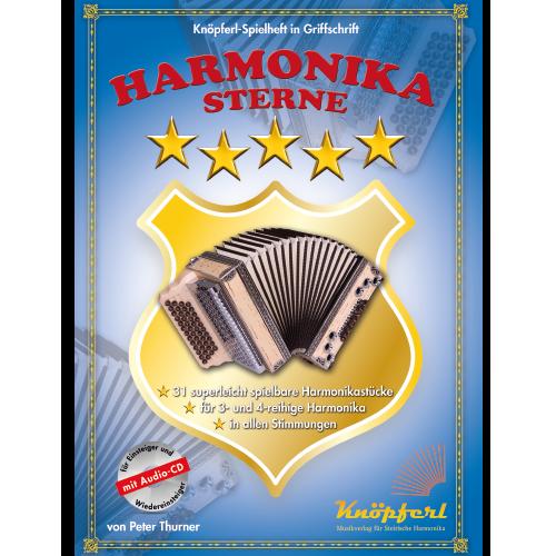 Schule und erstes Spielheft für die 1-reihige Handharmonika